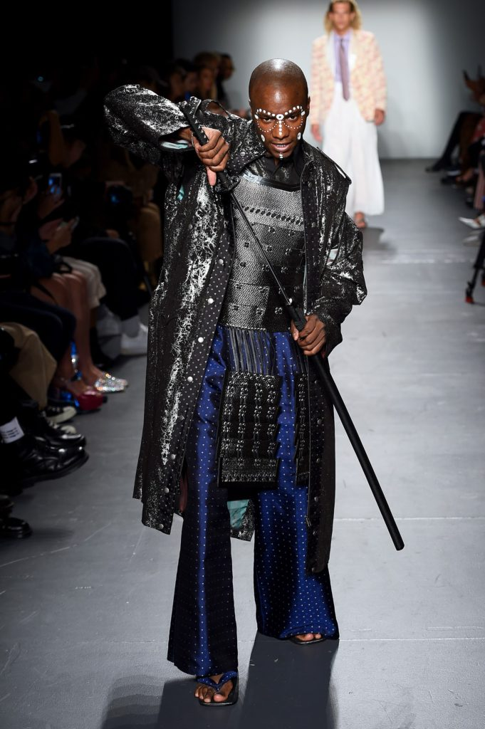 FORTUNA Tokyo NYFW SEP 2019, 2020 SS Collection Look 1, Young Paris.