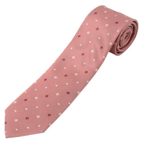 15. さくら 桃色 西陣織ネクタイ