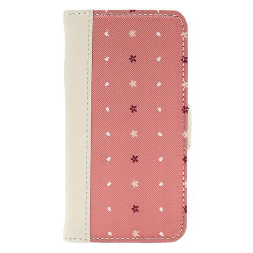 15. さくら 桃色 西陣織 iPhoneケース