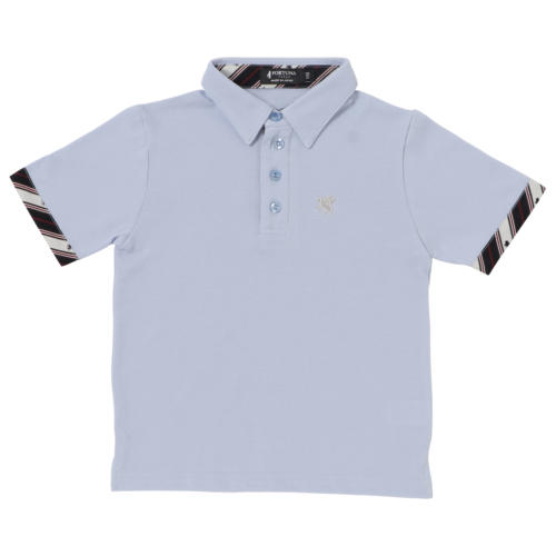 Antivirus/antibacterial Kid's Polo Shirt Short Sleeve -13. Miracle